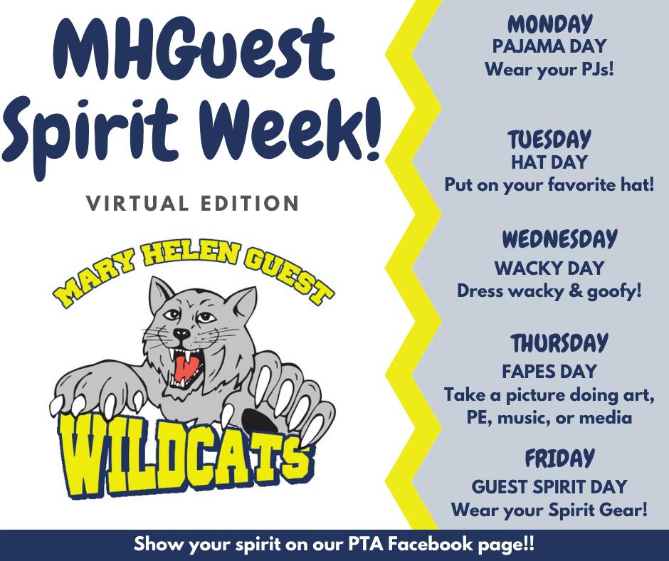 MHGuest Spirit Week!